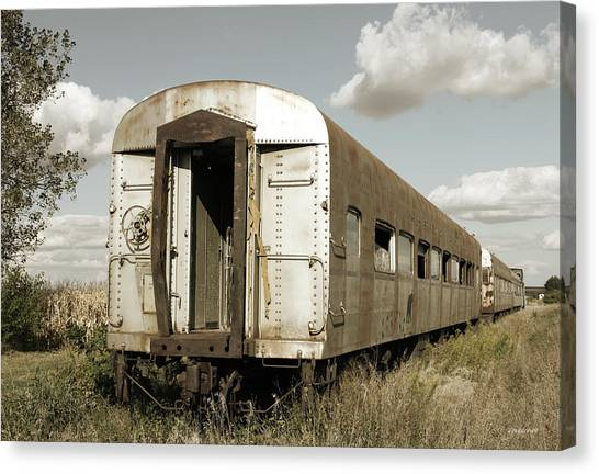 Train To Nowhere Canvas Print
