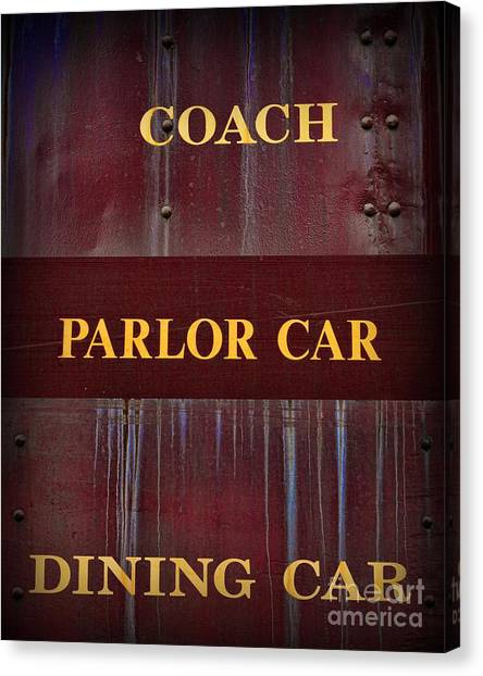 Train Conductor Canvas Print - Train - Which Car by Paul Ward