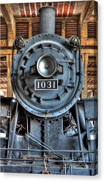 Trains - Steam Locomotive 1031 Canvas Print