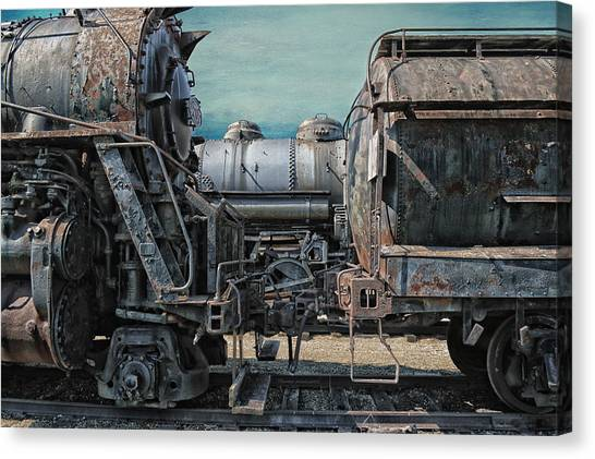 Thomas The Train Canvas Print - Trains Ancient Iron by Thomas Woolworth