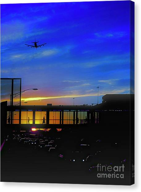 Trains Planes And Automobiles  Canvas Print