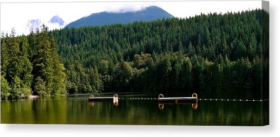Tranquil Alice Lake Canvas Print