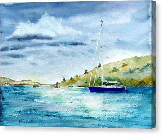 Tranquil Anchorage Canvas Print