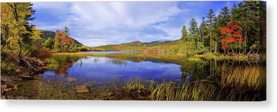 Maine Canvas Print - Tranquil by Chad Dutson
