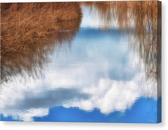 Canvas Print featuring the photograph Tranquil Illusion by Dee Browning