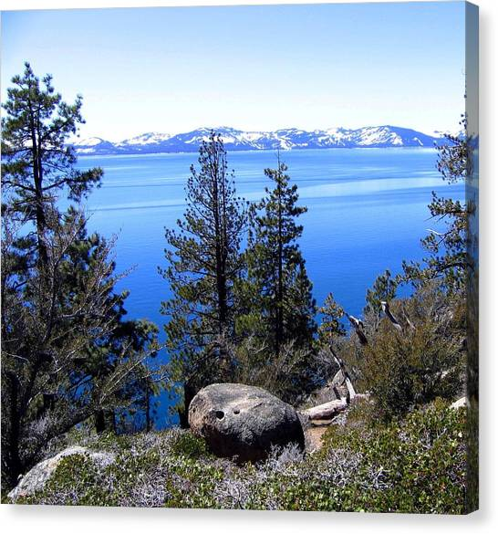 Tranquil Lake Tahoe Canvas Print