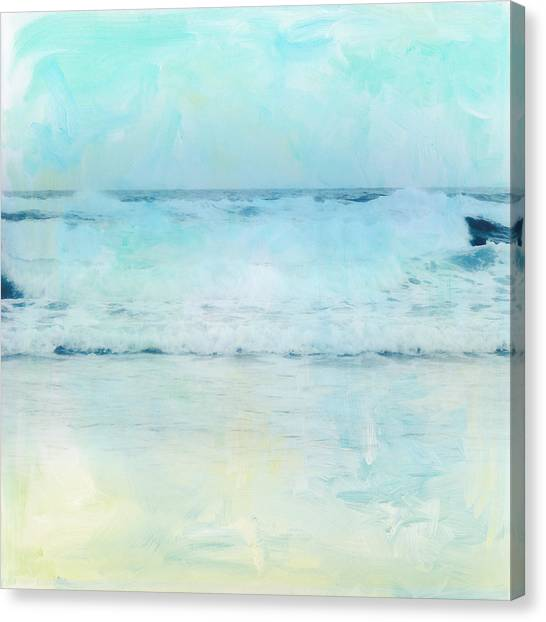 Canvas Print - Tranquil Shores - Waves by Amanda Lakey
