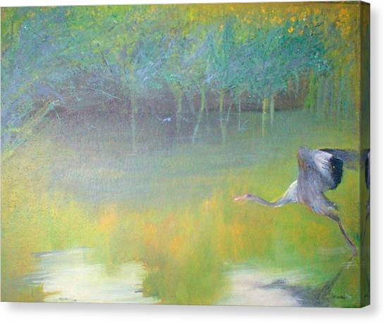 Tranquil Canvas Print by Tinsu Kasai