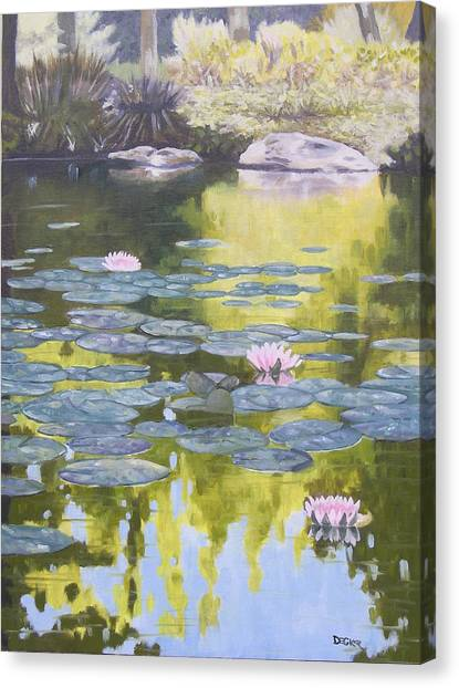 Tranquility IIi Furman University Canvas Print