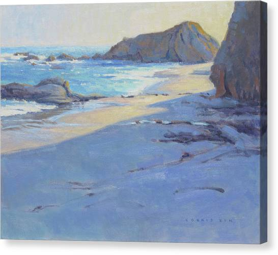 Tranquility Study / Laguna Beach Canvas Print
