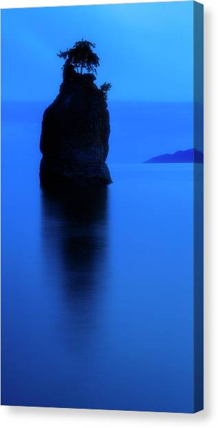 Vancouver Canucks Canvas Print - Tranquillity  by Stephen Stookey