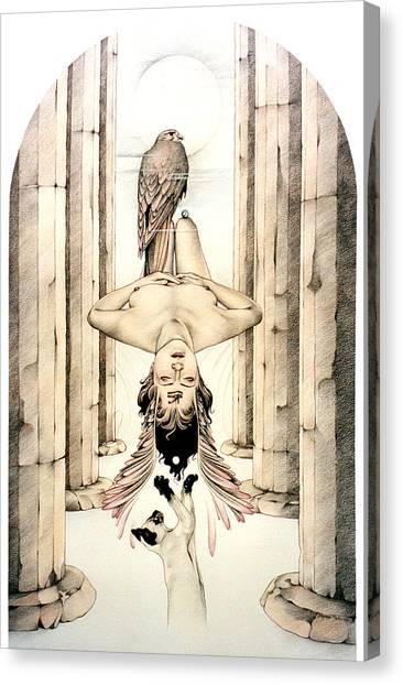 Trans Canvas Print