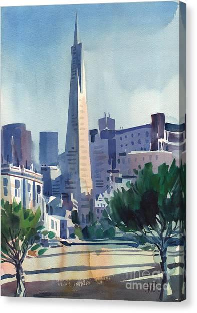 Transamerica Building Canvas Print by Donald Maier