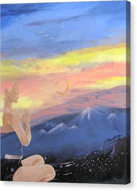 Transcendental Canvas Print by Penfield Hondros