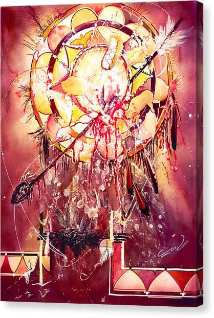 Transcending Indian Spirit Canvas Print