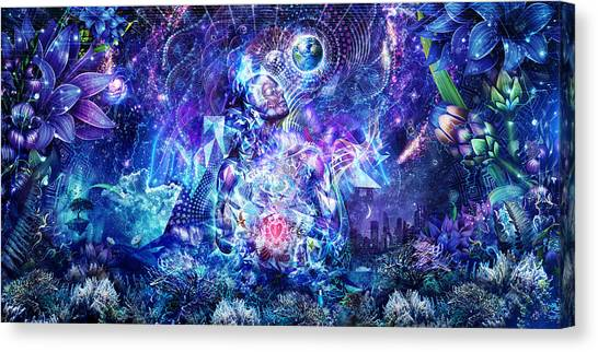 Metal Canvas Print - Transcension by Cameron Gray