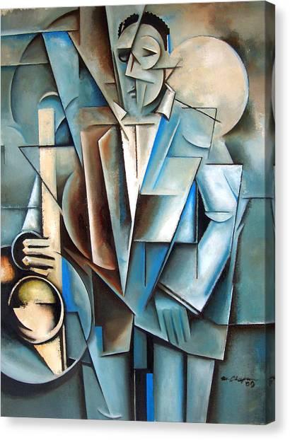 Transfiguration Canvas Print by Martel Chapman