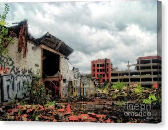 Apocalypse Detroit 2 Canvas Print