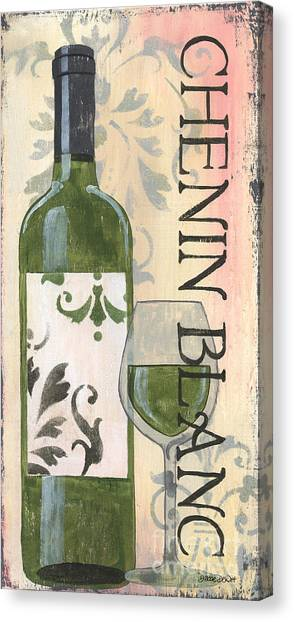 Winery Canvas Print - Transitional Wine Chenin Blanc by Debbie DeWitt