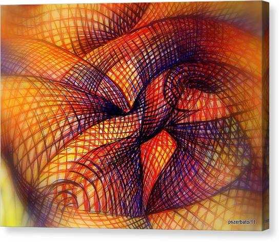 Transmutation Canvas Print by Paulo Zerbato