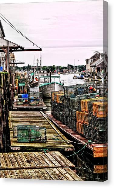 Traps Portland Maine Canvas Print