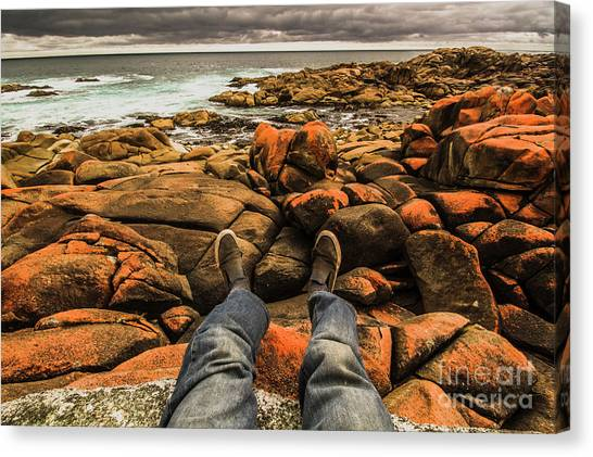 Toes Canvas Print - Travelling West Coast Tasmania by Jorgo Photography - Wall Art Gallery