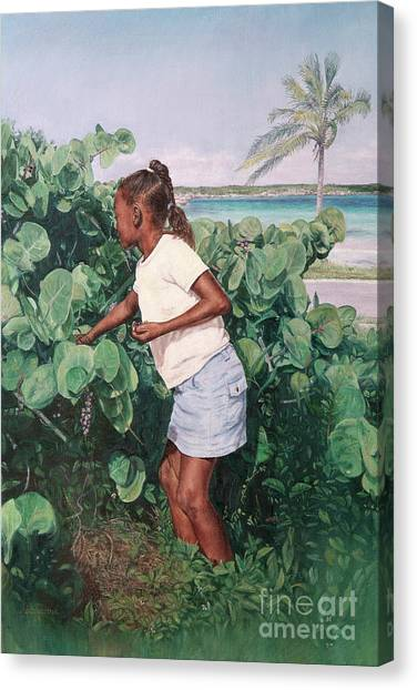 Eleuthera Art Canvas Print - Treasure Cove by Roshanne Minnis-Eyma