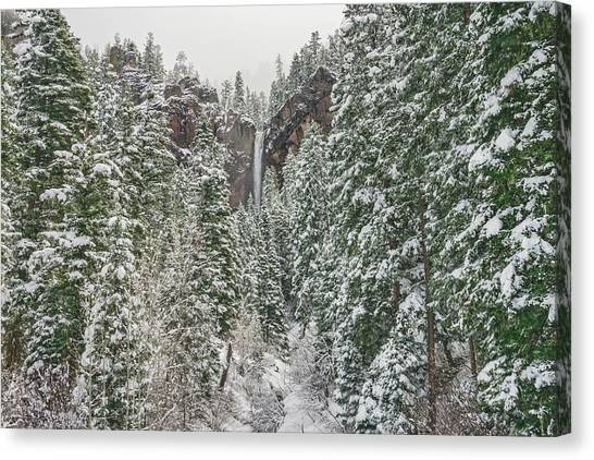 Treasure Falls Is One Of Colorado's Priceless Treasures.  Canvas Print