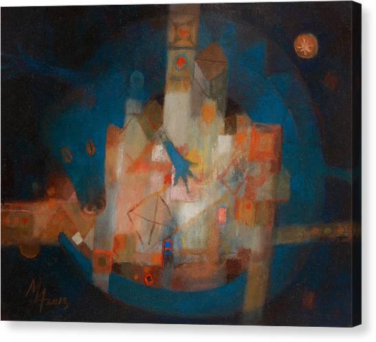 Treasure Of The Blue Dragon Canvas Print
