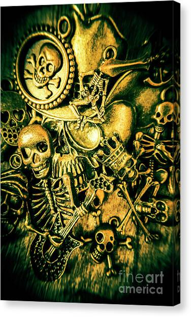 Chest Canvas Print - Treasures From Skull Island by Jorgo Photography - Wall Art Gallery