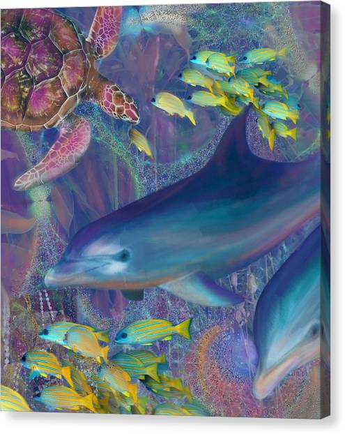 Treasures Of The Caribbean Canvas Print
