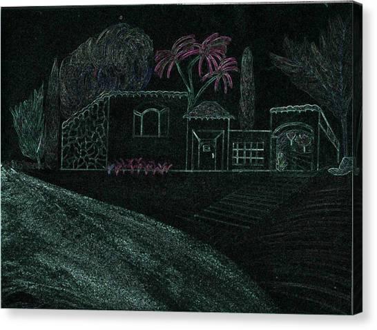 Treat Canvas Print by Karen Diggs