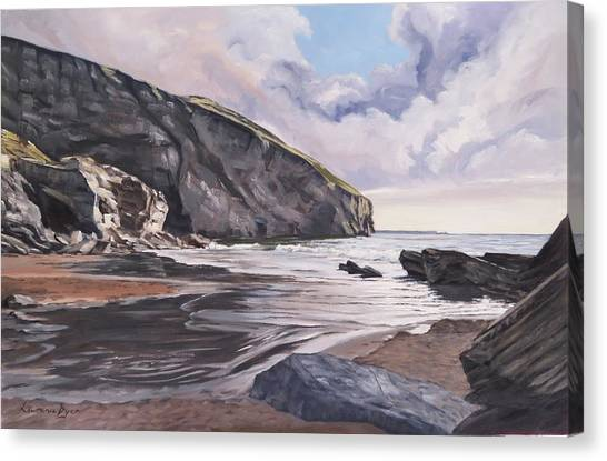Trebarwith Strand Canvas Print
