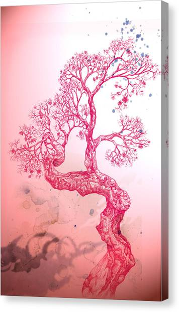 Tree 14 Hybrid 1 Canvas Print