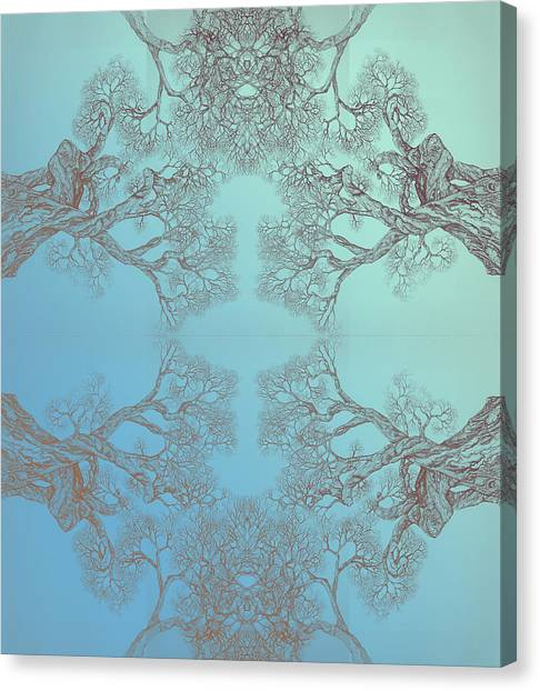 Tree 20 Hybrid 3 Canvas Print