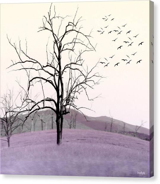 Tree Change Canvas Print