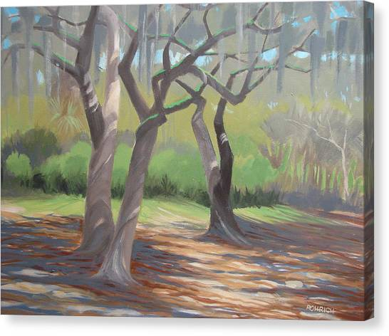 Tree Dance Canvas Print by Robert Rohrich