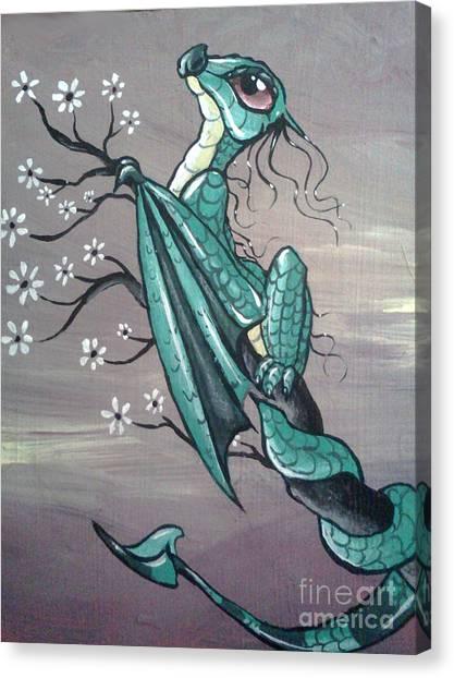 Tree Dragon II Canvas Print