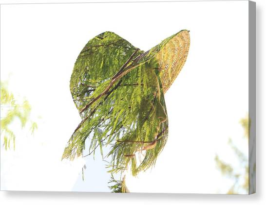Tree Hat Canvas Print