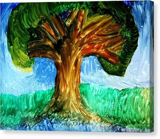 Tree Island  Canvas Print