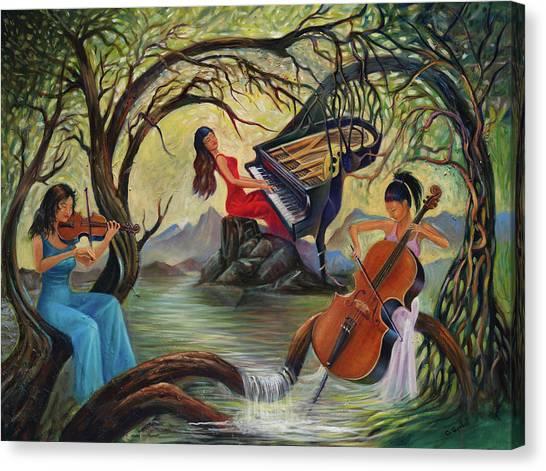 Tree O Canvas Print