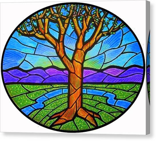 Tree Of Grace - Spring Canvas Print