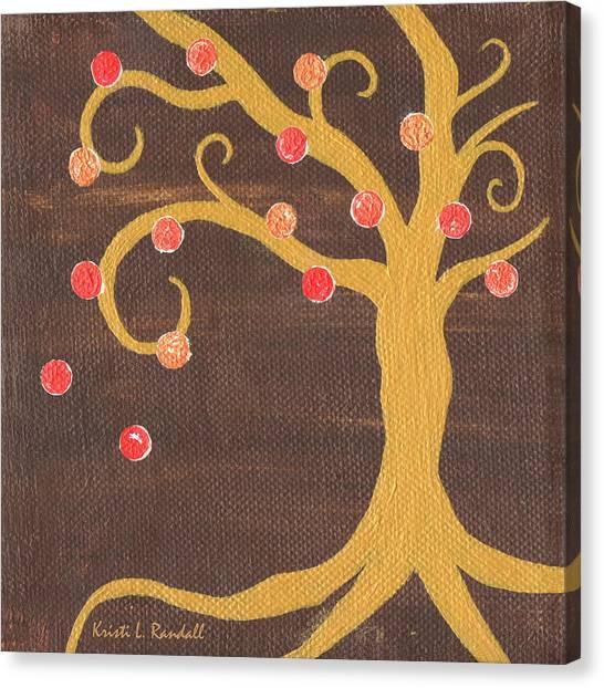 Tree Of Life - Right Canvas Print by Kristi L Randall
