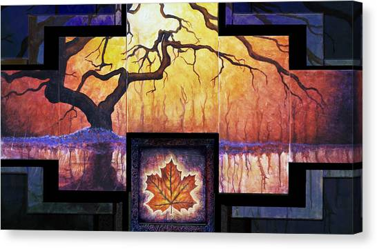 Tree Of Life The Giver Canvas Print