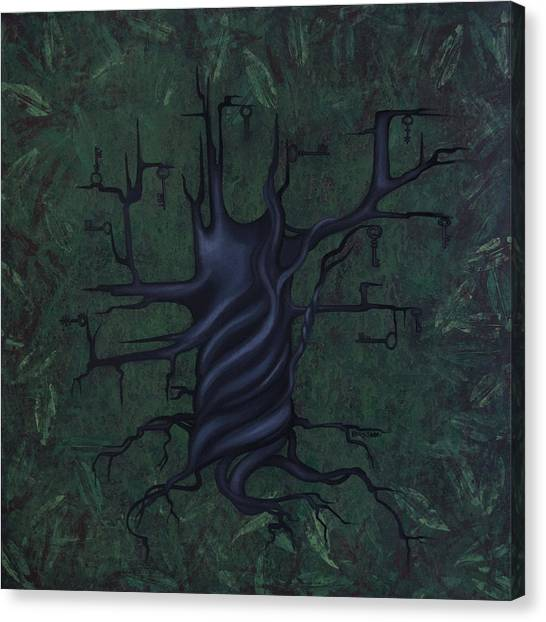 Canvas Print - Tree Of Secrets by Kelly Jade King