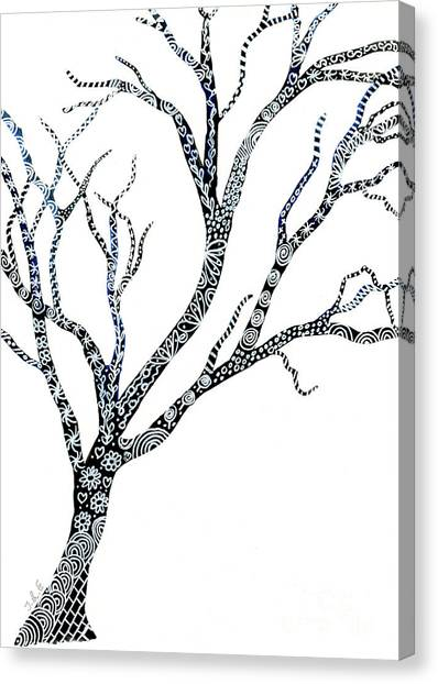 Tree Of Strength Canvas Print