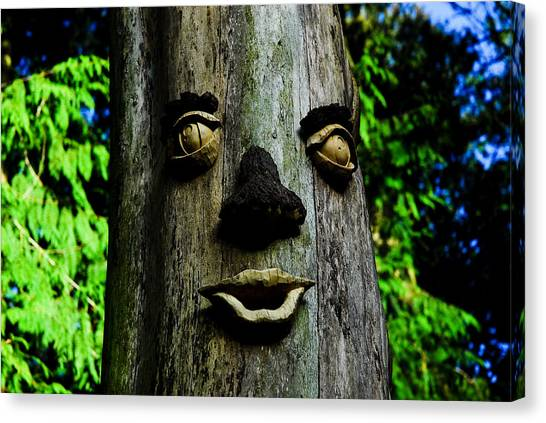 Tree People Canvas Print by Craig Perry-Ollila