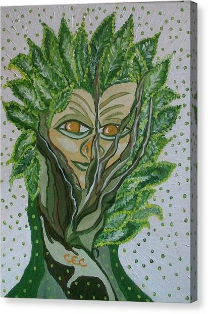 Tree Sprite Canvas Print