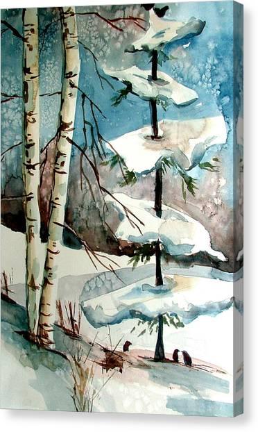 Tree Talkers Canvas Print