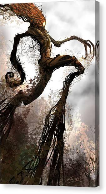 Concept Canvas Print - Treeman by Alex Ruiz